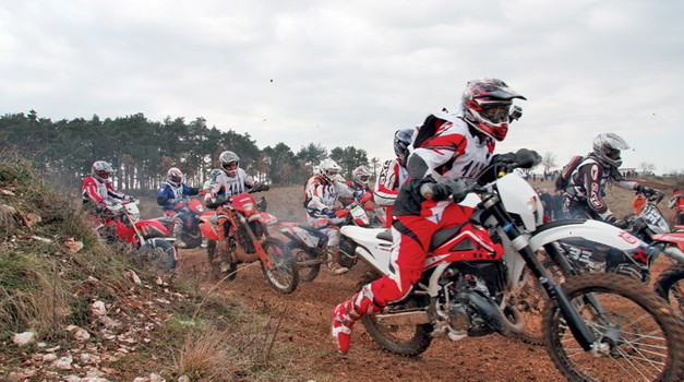 Dirkaški test: Husqvarna WR 125 (foto: Mitja Gustinčič, Matevž Hribar, Mateja Zupin)