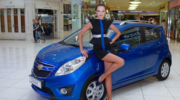 Urša Kačar najbolj kreativna (foto: Chevrolet)