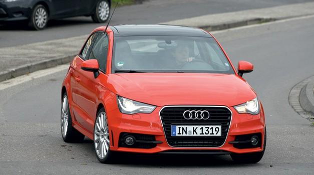 Audi S1: Cooper S, kje si? (foto: Automedia)