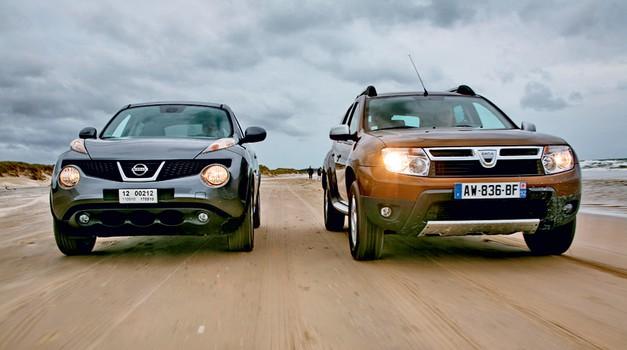 Primerjamo: Dacia Duster in Nissan Juke (foto: Vinko Kernc)