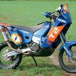 Tole je zadnji veliki dakarski motocikel, rezultat 15-letnega razvoja in kronan s številnimi zmagami. (foto: Aleš Pavletič)