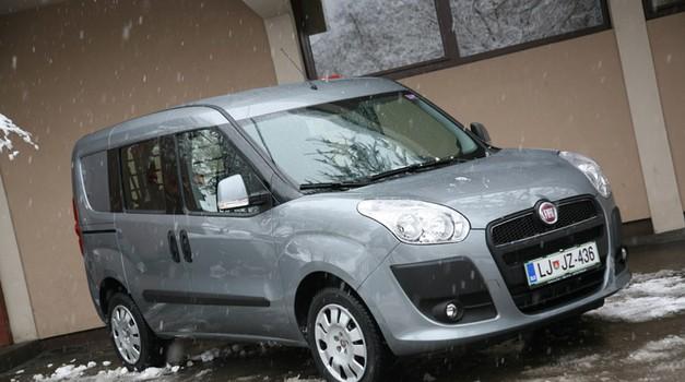 Novo v Sloveniji: Fiat Dobló Cargo (foto: Vinko Kernc)