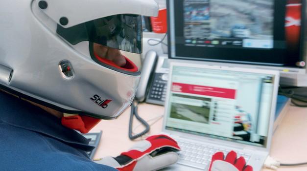 Naši dirkači in splet (foto: Aleš Pavletič)