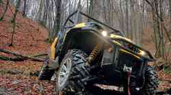 Vozili smo: Can-Am Commander 1000 XT