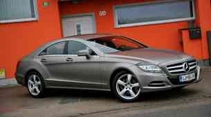 Novo v Sloveniji: Mercedes-Benz CLS za hedoniste