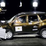 Dacia Duster (foto: Euro NCAP)