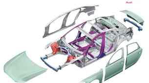 Tehnika: Audi in Lamborghini za čim manjšo težo