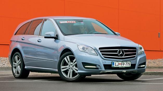 Kratek test: Mercedes-Benz R 350 CDI 4MATIC