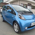 Novo v Sloveniji: Mitsubishi i-MiEV (foto: Matevž Hribar)
