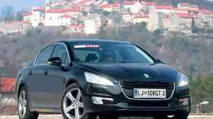 Test: Peugeot 508 2.2 HDi FAP GT