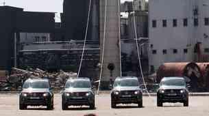 Volkswagen Amaroki podrli dimnik