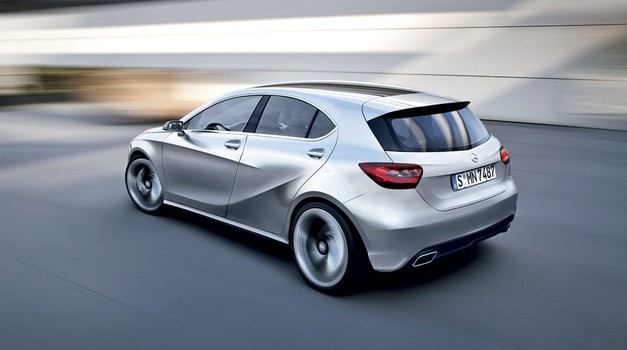 Mercedes-Benz razreda A (foto: Bojan Perko)