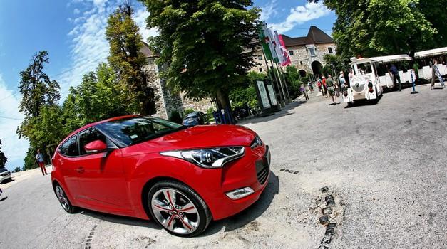 Novo v Sloveniji: Hyundai Veloster (foto: Vinko Kernc)