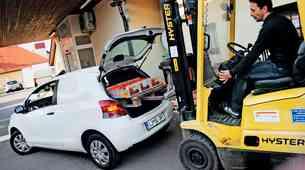 Kratek test: Toyota Yaris Van 1.0 VVT-i