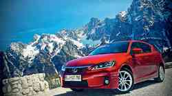 Test: Lexus CT 200h Sport Premium