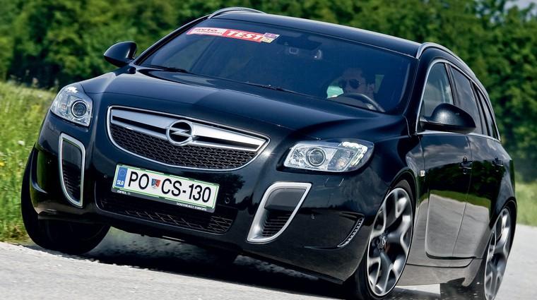Test: Opel Insignia Sports Tourer OPC (foto: Aleš Pavletič, Saša Kapetanovič)