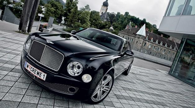 Vozili smo: Bentley Mulsanne (foto: Saša Kapetanovič)