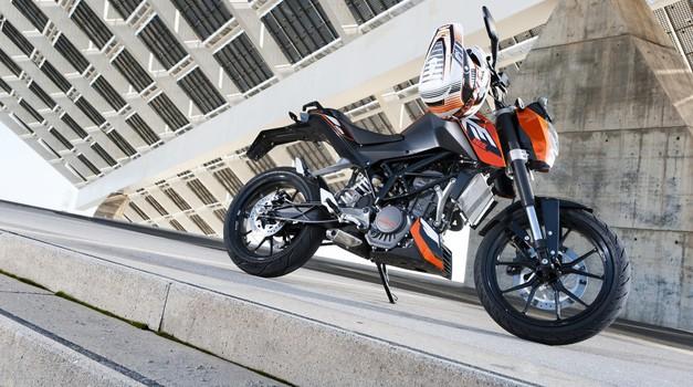 KTM (ne) napoveduje: Duke 350, Adventure in Superduke R 1290 (foto: Schedl R.)