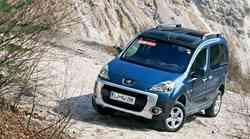 Kratek test: Peugeot Partner Tepee 1.6 HDi 4x4 Dangel Outdoor