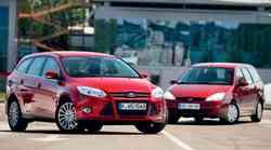 Rdeč Ford Focus Karavan: 12 let kasneje