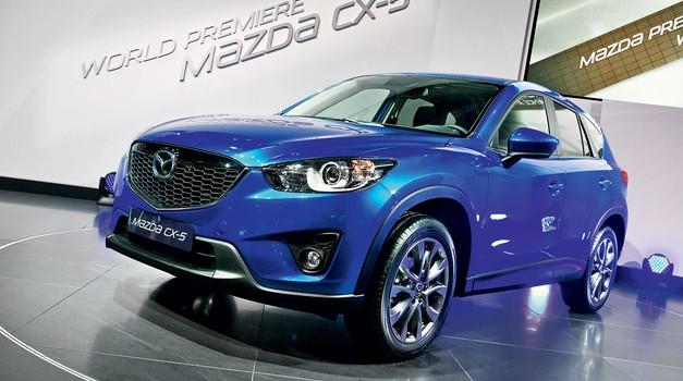 Frankfurt 2011: Mazda (foto: Vinko Kernc)