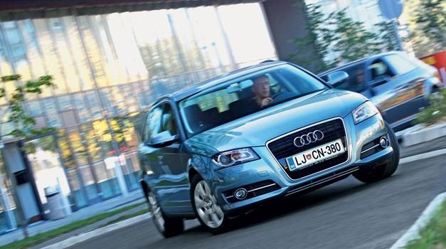 Kratek test: Audi A3 Sportback 1.6 TDI Attraction Comfort Edition (foto: Aleš Pavletič)