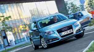 Kratek test: Audi A3 Sportback 1.6 TDI Attraction Comfort Edition