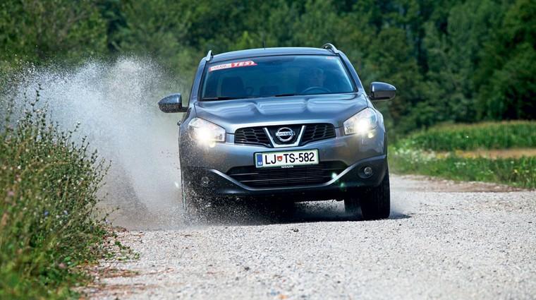 Kratek test: Nissan Qashqai+2 1.5 dCi (foto: Saša Kapetanovič)