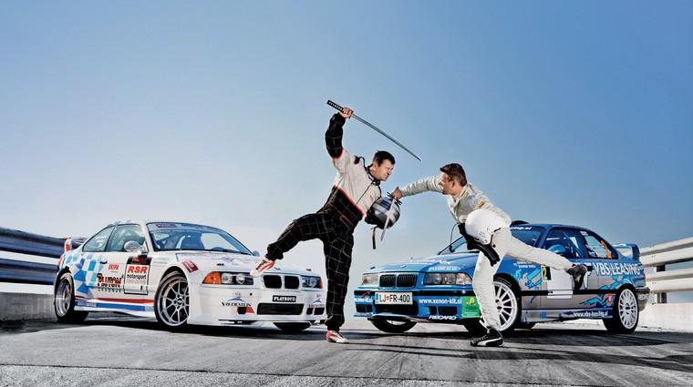 BMW za reli in drift (foto: Matej Grošelj)