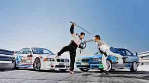 BMW M3 za reli in M3 GTR za drift