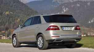 Novo v Sloveniji: Mercedes-Benz ML