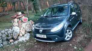 Kratek test: Dacia Sandero dCi 90 Stepway