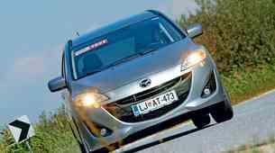 Kratek test: Mazda5 CD116 TX Navi