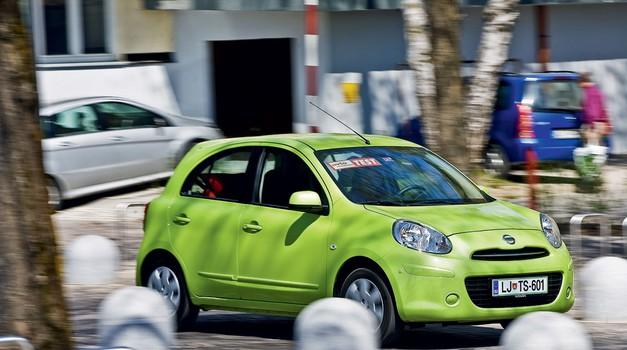 Nissan Micra 1.2 16v Acenta City (foto: Aljosa Mrak)