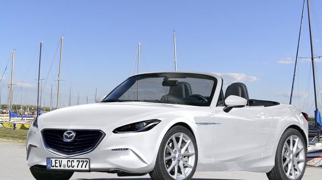 Mazda MX-5 za 2014? (foto: Carparazzi)