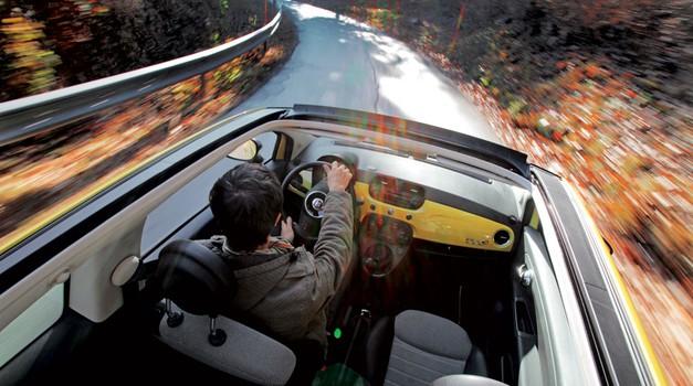 Kratek test: Fiat 500C 0.9 TwinAir Turbo Lounge (foto: Saša Kapetanovič)