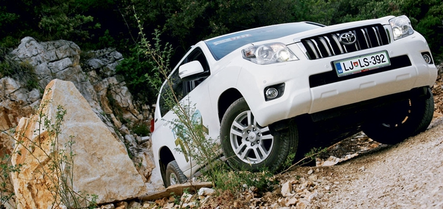 Kratek test: Toyota Land Cruiser 3.0 D-4D Professional