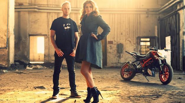 Neisha in Bagoroš skupaj v videospotu