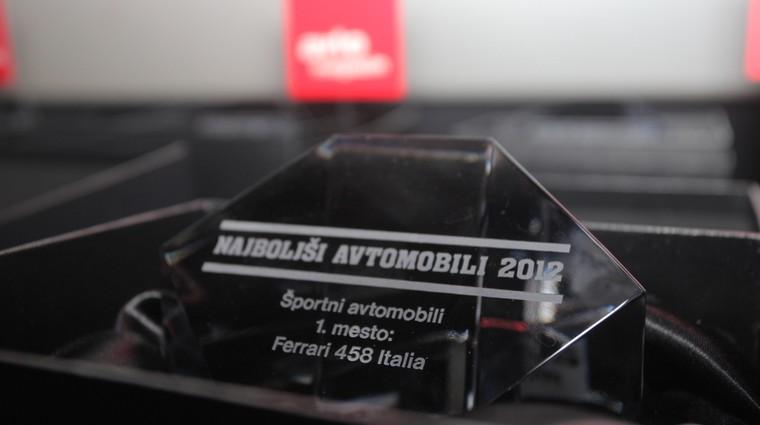Najboljši avtomobili 2012: Štiri nagrade za Audi (video) (foto: Aleš Pavletič)