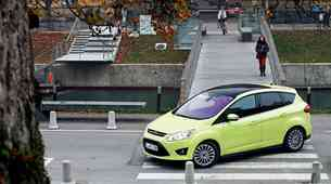 Podaljšani test: Ford C-Max 1.6 EcoBoost (110 kW) Titanium