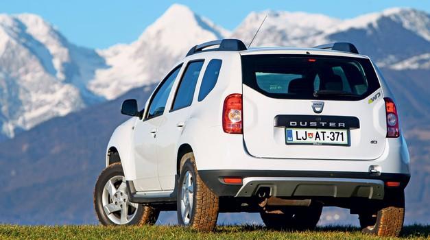 Podaljšani test: Dacia Duster 1.5 dCi 4X4 Laureate (foto: Uroš Modlic, Primož Jurman)