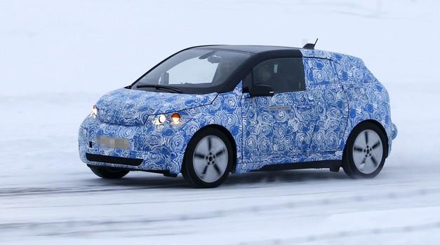 Vohunski posnetki: BMW i3 preizkušajo v Münchnu (foto: Automedia)