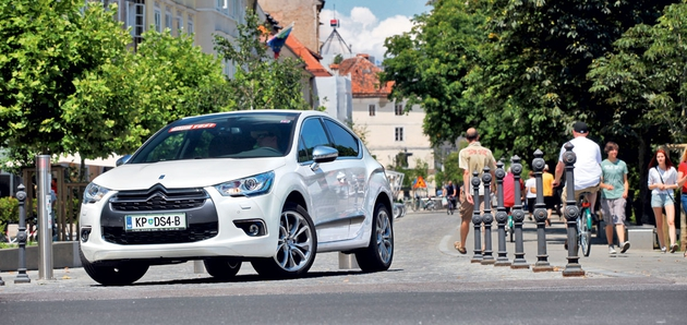 Test: Citroën DS4 1.6 THP (147 kW) Sport Chic