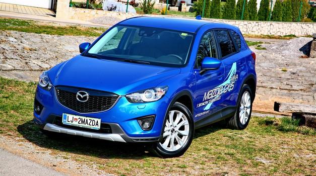 Novo v Sloveniji: Mazda CX-5 (foto: Vinko Kernc)
