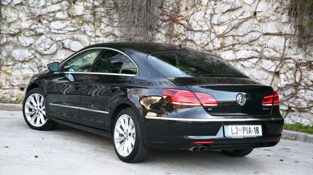 Novo v Sloveniji: Volkswagen CC in Passat Alltrack (foto: VK)