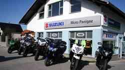 Najem motociklov: Panigaz nudi sedem Kawasakijev in Suzukijev