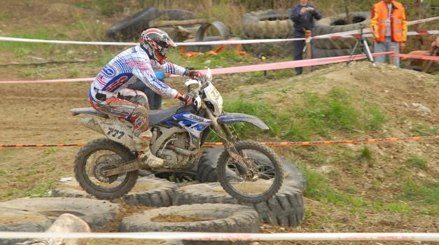 SXC: Motokrosist Sašo Kragelj z Yamaho v enduro (foto: Željko Zelenčič)