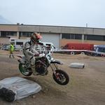 V drugi dirki je začelo nastajati blato (foto: Nika Merljak)