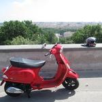 Z Vespo v Rimu (video) (foto: Matevž Hribar)
