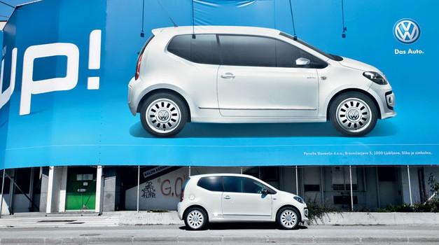 Kratek test: Volkswagen white up! 1.0 (55 kW) (foto: Saša Kapetanović)